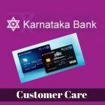Karnataka Bank Credit Card Customer Care