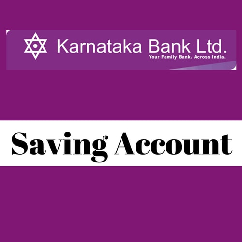 Karnataka Bank Savings Account