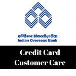 Indian Overseas Bank Credit Card Customer Care