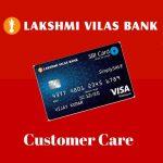 Lakshmi Vilas Bank Credit Card Customer Care