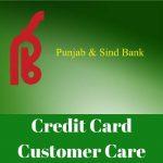 Punjab and Sind Bank Credit Card Customer Care