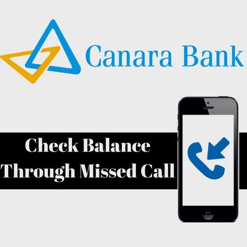 Canara Bank Account Balance