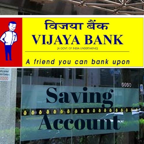 Vijaya Bank Savings Account